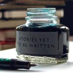 ink bottle and pen for writers of stories yet to be written - Each month we feature one of our authors, getting to know more about them and the writing and creating they love. First up: Jonathan C. Nordstrom! - The Omnibus Publishing