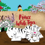 cover image of children's book, The Prince and the White Tiger, by David Jonas
