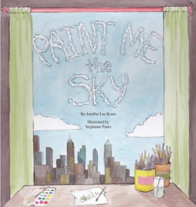 book cover image of Paint me the Sky children's book