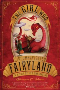 cover image of book The Girl Who Circumnavigated Fairyland In a Ship of her own Making