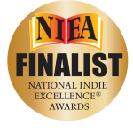 2018 NIEA Finalist award seal for maddy & cole book by richie frieman