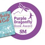 maddy & cole book cover with 2018 purple dragonfly award seal