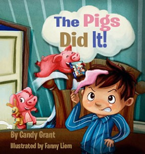 Our newest and most popular children's books are now available for your Amazon Kindle! Click on the image to order yours today! - Candy Grant - The Pigs Did It - The Omnibus Publishing